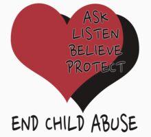 End child abuse Kids Tee