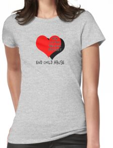 End child abuse Womens Fitted T-Shirt