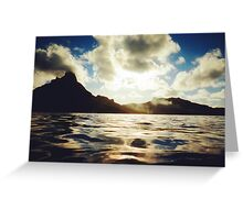 Bora Bora - Tahiti Greeting Card