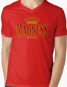 MADNESS FROM LONDON Mens V-Neck T-Shirt