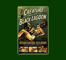 Creature Black Lagoon by Randall Robinson