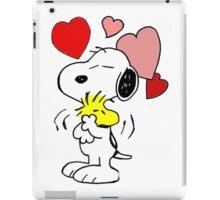 hug valentine snoopy peanut iPad Case/Skin