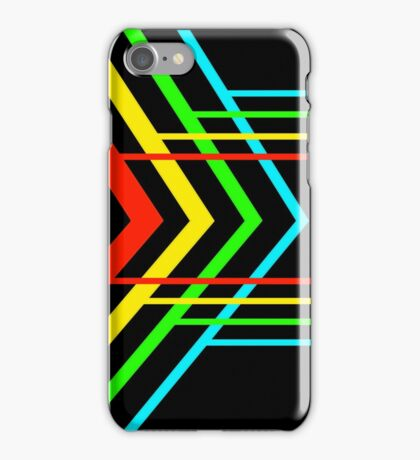 Arrows and Lines iPhone Case/Skin
