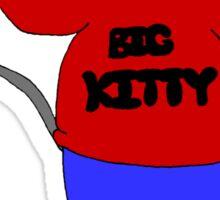 big kitty Sticker