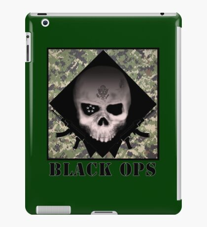 BLACK OPS iPad Case/Skin