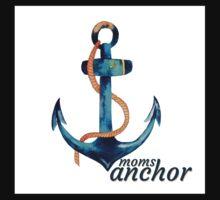 Moms Anchor Kids Tee One Piece - Long Sleeve