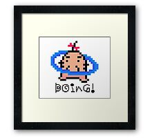 Mr. Saturn Earthbound/Mother Framed Print