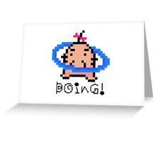 Mr. Saturn Earthbound/Mother Greeting Card