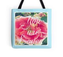 Rose of Sharyn- Elephant in the Sky Blue Tote Bag