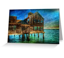 The San Diego Pier Cafe Greeting Card