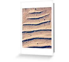 Sand Bars - Gnoorea Point, WA Greeting Card