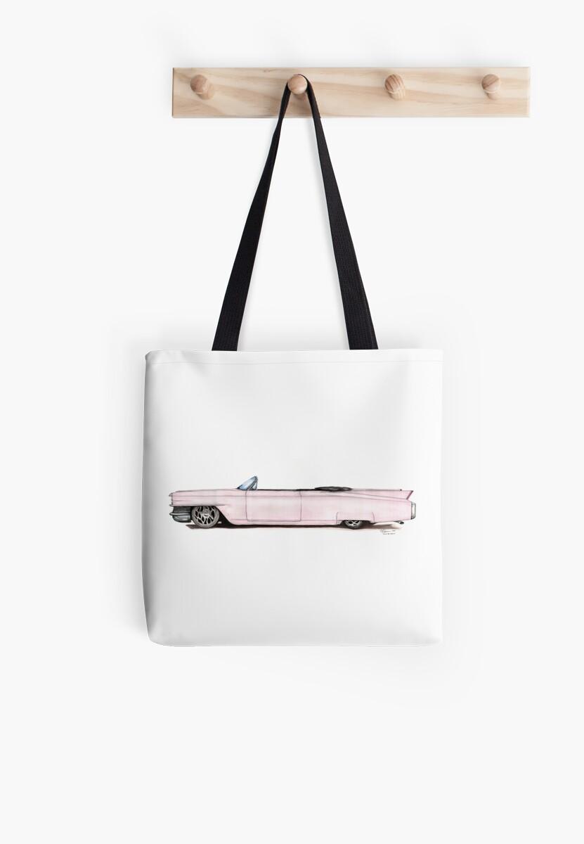 1964 Custom Pink Cadillac by Randall Robinson