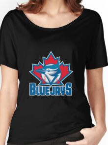 Toronto_Blue_Jays_Logo_ Women's Relaxed Fit T-Shirt