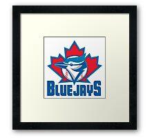 Toronto_Blue_Jays_Logo_ Framed Print