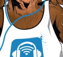 Audio Monkey Sticker