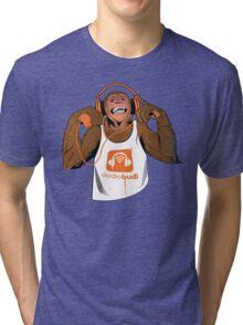 Orange Monkey  Tri-blend T-Shirt