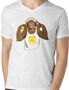 Yellow Monkey  Mens V-Neck T-Shirt