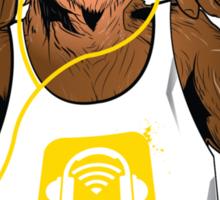 Yellow Monkey  Sticker
