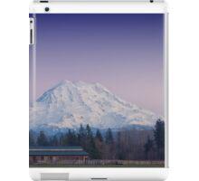 Mount Rainer, Graham Washington iPad Case/Skin