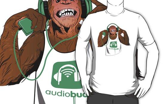 Green Monkey  by audiobudi