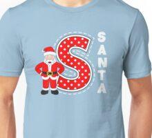 'S' is for Santa! Unisex T-Shirt