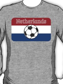 The flag of the Netherlands | Football T-Shirt