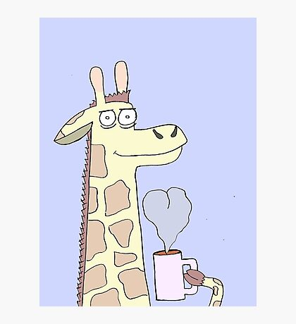 We're All Giraffe I Guess  Photographic Print