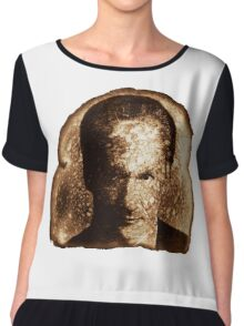 Bill Maher Miracle Toast Chiffon Top