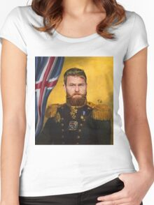Aron Gunnarsson lord of Ice Women's Fitted Scoop T-Shirt