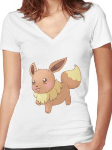 Eevee Women's Fitted V-Neck T-Shirt