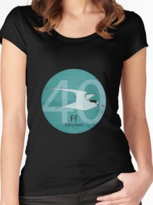New Zealand Fairy Tern Women's Fitted Scoop T-Shirt