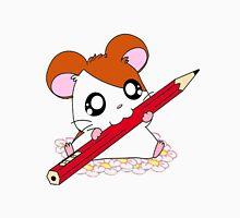 Hamtaro with pencil & flowers Unisex T-Shirt