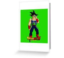 Dragon Ball Z - Bardock Greeting Card