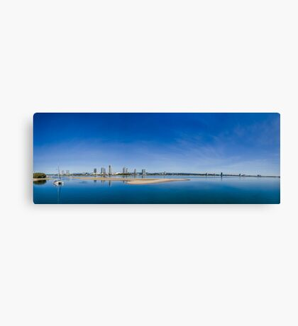 Gold Coast Broadwater, QLD, Australia Canvas Print