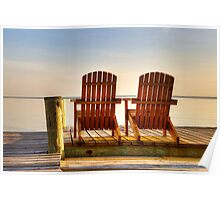 A Place to Hold Hands: Chesapeake Bay Poster