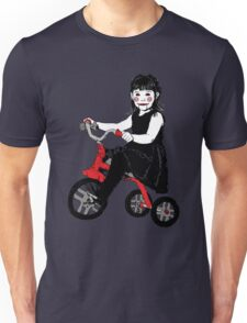 Saw Girl Puppet Unisex T-Shirt