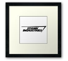 Stank Industries Framed Print