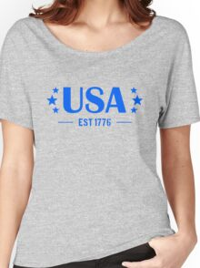 USA Patriotic Women's Relaxed Fit T-Shirt