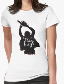 Free Hugs - Scary Womens Fitted T-Shirt