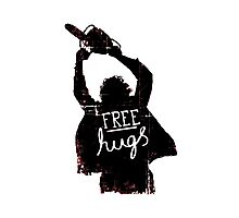 Free Hugs - Scary Photographic Print