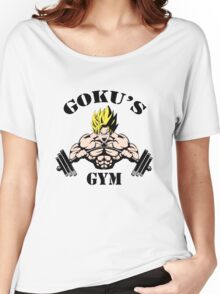 Goku's Gym Women's Relaxed Fit T-Shirt