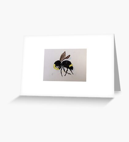 Bumble Greeting Card