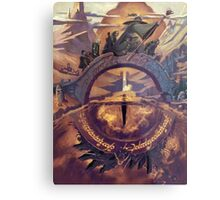 The Lord of the Rings Metal Print
