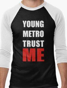 young metro trust me Men's Baseball ¾ T-Shirt