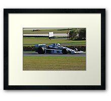 Williams FW06 Framed Print