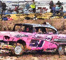 """ British Banger Racing "" Vector Artwork by CDoJOe Design @ cdocitylife.com"