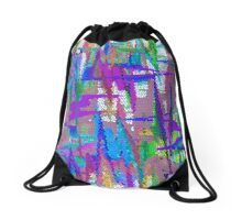 Weaving In And Out Drawstring Bag