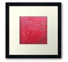'Fire' The Accidental Pilgrim Framed Print