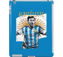 Messi Argentina World Cup Shirt iPad Case/Skin
