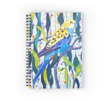 Pale Headed Parrot Spiral Notebook